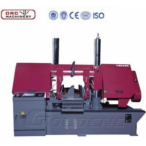DRC GB4230 High Speed CNC metal cutting band saw column steel pipe machine