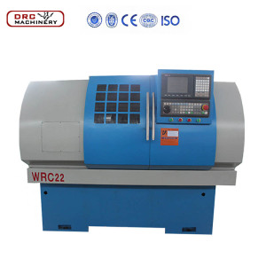 DRC 22 China Cheap High QualityCNC Small Type Wheel Repairing Lathe