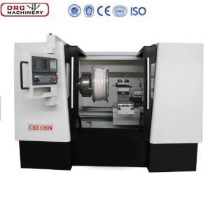 DRC Cheap High Quality CNC Large Diameter Polishing Alloy Wheel Repairing Lathe CK6190W