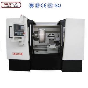 Cheap China High Quality CK(W) Series Wheel CNC Lathe CK6180W