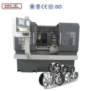 DRC20A Cheap High Quality Small Type alloy Wheel Repairing cnc lathe machine,on car brake lathe