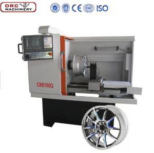 CK6160Q China Günstige Qualität Wirtschaftliche CNC Kleine Art Rad Reparatur Drehmaschine