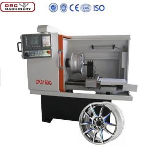 CK6160Q China Cheap High Quality Economical CNC Small Type Wheel Repairing Lathe