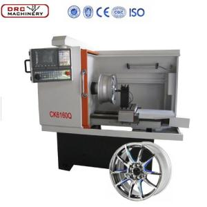 alloy wheel repair lathe machine