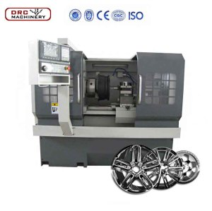 DRC20AA Cheap High Quality Small Type Alloy Wheel Repairing Cnc Lathe Machine,On Car Brake Lathe