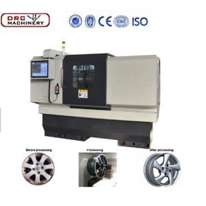 Дешевые ремонт колеса токарный станок DRC24A-1 алюминиевые колеса Восстановленное станки с ЧПУ