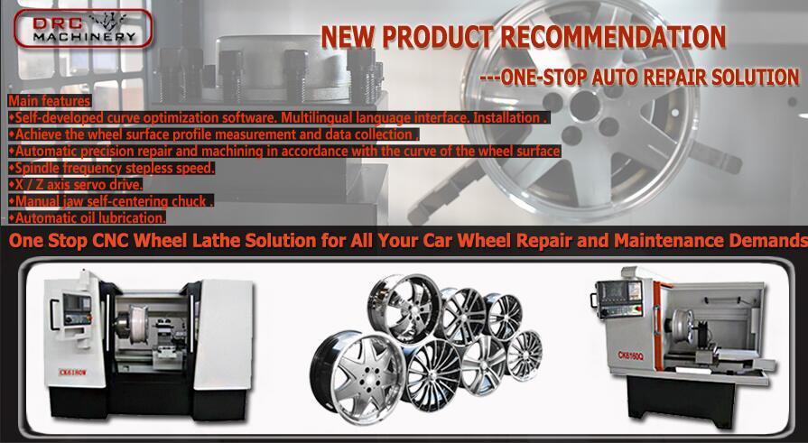 alloy rim straightening machine
