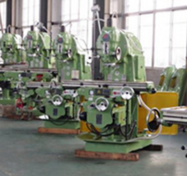 knee type conventional universal vertical milling machine