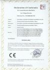 Crane scales CE Certificate LVD