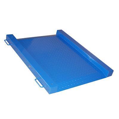 Single Deck Floor Scale Integral Ramp