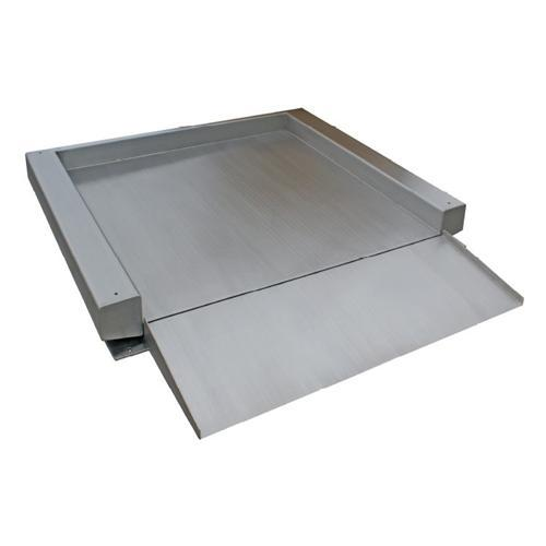 Stainless Steel Single Deck Floor Scale