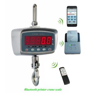 Bluetooth Wireless Printer Crane Scale