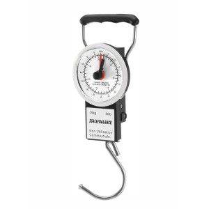 Mechanical luggage scale