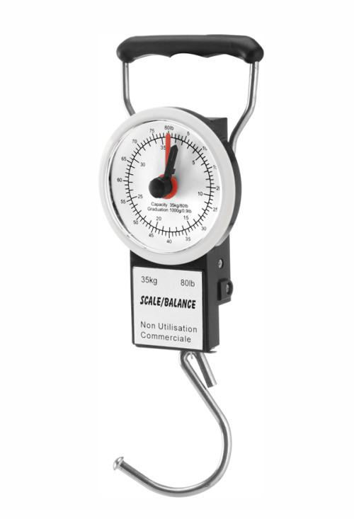Mechanical luggage scale