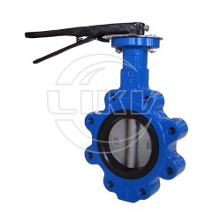 Lug type butterfly valve