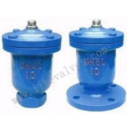 single port exhaust valve