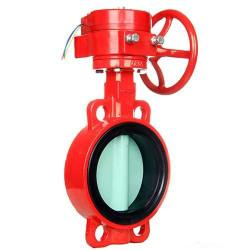fire control signal butterfly valve