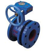 flex flanged butterfly valve