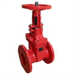 fire fighting signal gate valve