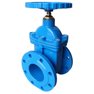non-rising stem gate valve with bronze nut