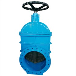 large size gate valve