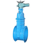 large size electric gate valve