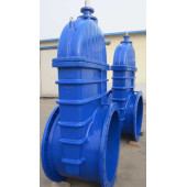 large size  resilient seat gate valve
