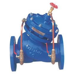 electric operated remote-controlled valve