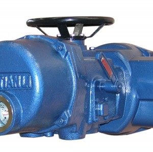 Multi turn valve electric device