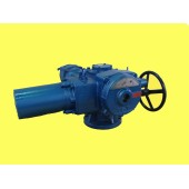 Independent multi turn valve electric device