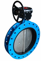 Flanged Type Concentric Butterfly Valve