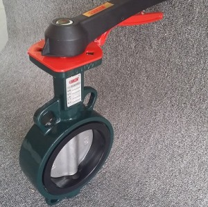 Wafer Type  Butterfly Valve With Handle