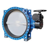 resilient seated concentric flanged butterfly valve