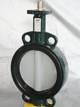 Nylon painted One Stem  Butterfly Valve