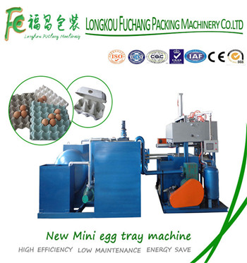 Good Quality Egg Tray Machine Price Easy To Operate