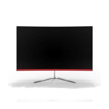 23,8 polegadas curvo all-in-one tela do computador i3 6th HD home office conjunto completo