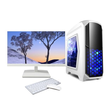Desktop computer-24 inch monitor assembled windows 10 i7 pc gamer for sale