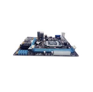 H61 1155 motherboard hot sell quality support 1*PCIE*1X 2*DDR3 VGA LAN PORT