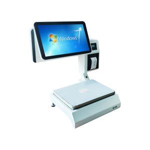 ComPOSxb 15.6 بوصة نقاط البيع PC تسجيل النقدية مع ماسح الباركود J1900 لمتجر POS