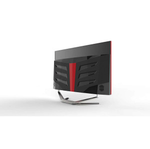 2DJS TECH game 27-inch curved screen all-in-one computer, Intel Core i5-8250U, 8GB RAM, 1TB hard drive, Windows 10 (black)