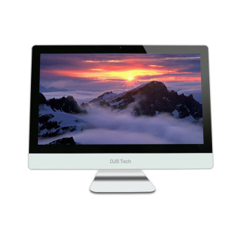 OEM 21.5 Inch i3 i5 i7 Desktop Computer DDR3 4G HDD 500GB with built in battery All In One Office pc