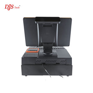 Pos Manufacturer 15 Inch Dual Screen Touch Pos System 15.6