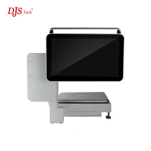 Wholesale and Customized 15.6-inch J1900 2GB Rom 64G SSD Win10 Capacitive Touch Dual Screen Pos System with Wifi POS Payment Terminal