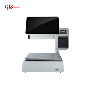 ComPOSxb 15.6 inch pos pc cash register with barcode scanner J1900 For Shop POS