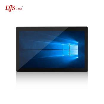 Desktop 17.3 inch Wide Screen Panel WIN 10 All In One Touch Tablet PC For school Office