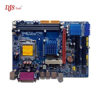 Hot sale dual socket Desktop motherboard g41 in stock Chipset lga775 ddr3 max 8GB