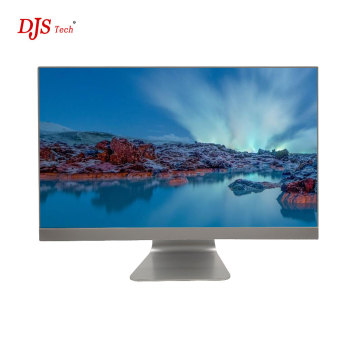 DJS TECH APro 21.5 LED ,4~8GB, 500~1TB HDD, Windows 10 All-in-One Computer - Silver computer wholesale china