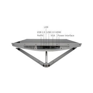 DJS-TECH E215 21.5-inch all-in-one desktop, Intel Core i5-3210M, 8GB RAM, 500GB hard drive, 802.11ac, keyboard and mouse