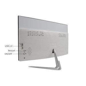 2019DJS-E215 21.5-inch all-in-one desktop computer (Intel® Core i3 6100 3.7G, 4GB RAM, 500GB hard drive, WiFi, Bluetooth, HDMI, Windows 10) Extra power and camera (white)