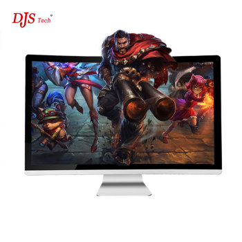 All-in-one computer - 32-inch curved computer monitor gaming computer - Best Buy (Intel® Core i5 7400 3.0GHz, 8GB RAM, 512 GB solid state drive, 500GB HDD, Nvdia Geforce GTX 1050, Windows 10) (Silver)